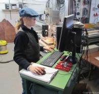 ...an der CNC-Fräsmaschine